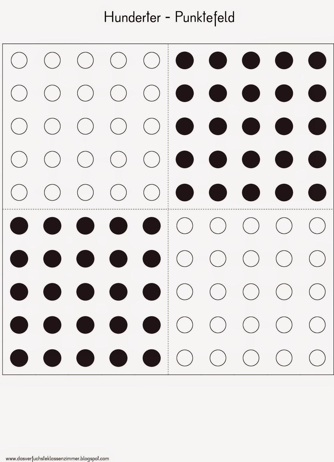 Das verfuchste Klassenzimmer: Hunderter Punktefeld