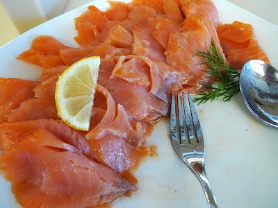 salmon łosoś