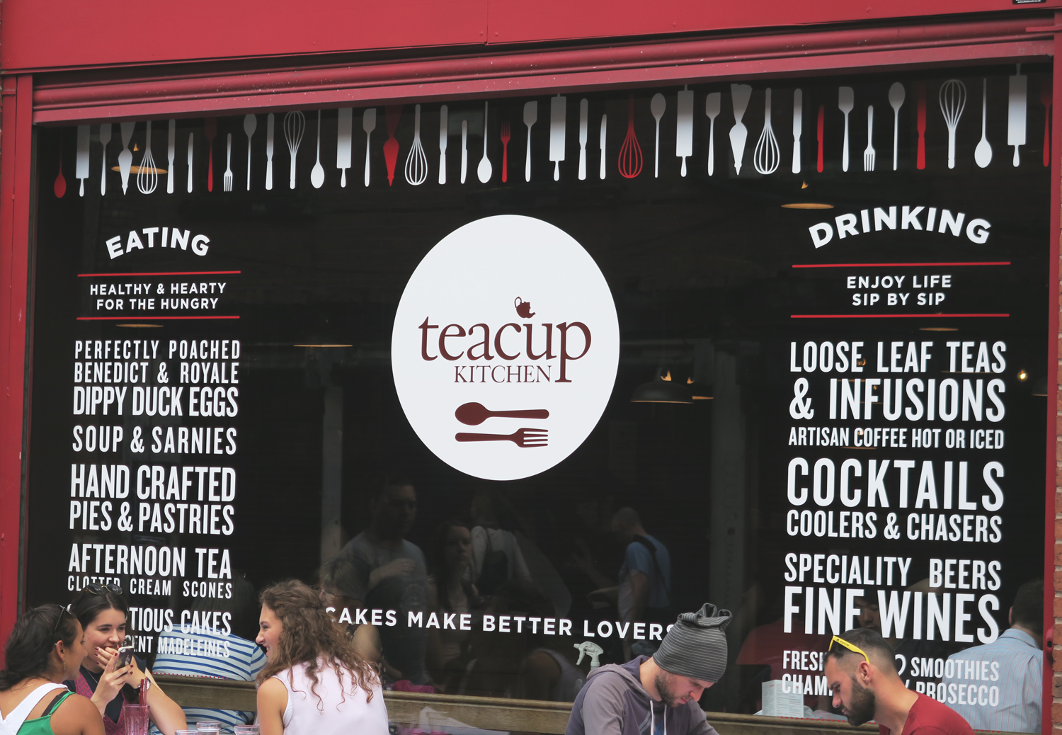 teacup northern quarter manchester cafe
