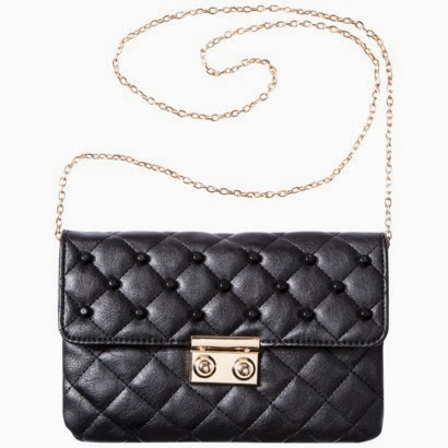 Moda Luxe Clutch with Removable Strap - Black $24.99 at Target