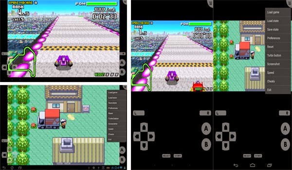 how to put gba games on android