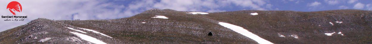 """Serra del Prete """"la classica"""" dalla cresta Sud Ovest"""
