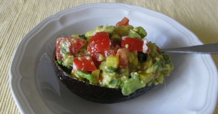 ... Are The Odds: Avocado with Bell Pepper and Tomatoes from Whole Living