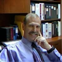 Mark Denham in his office.