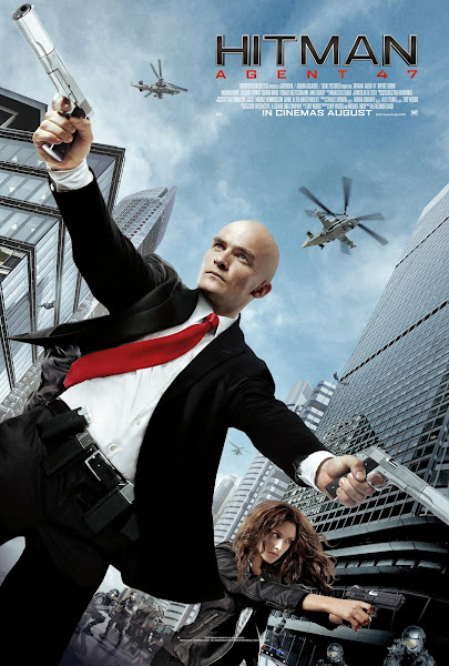 Poster Of Hitman Agent 47 (2015) 720p BRRip English