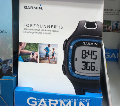 Get the most out of your workout with the Garmin Forerunner 15 GPS Activity Tracking Watch