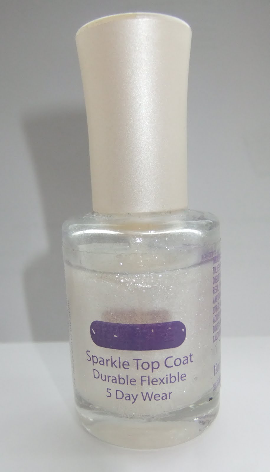 Collection 2000 nail care sparkle top coat