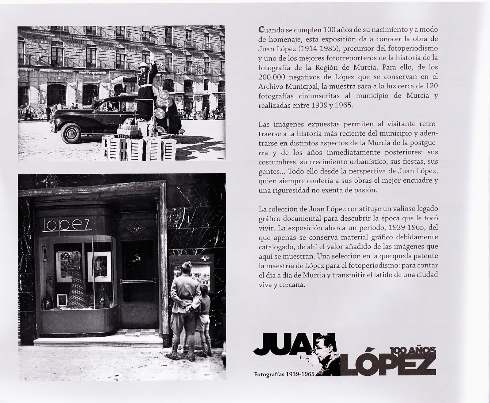 Exposición de fotos de Juan López | Academias del Jardín