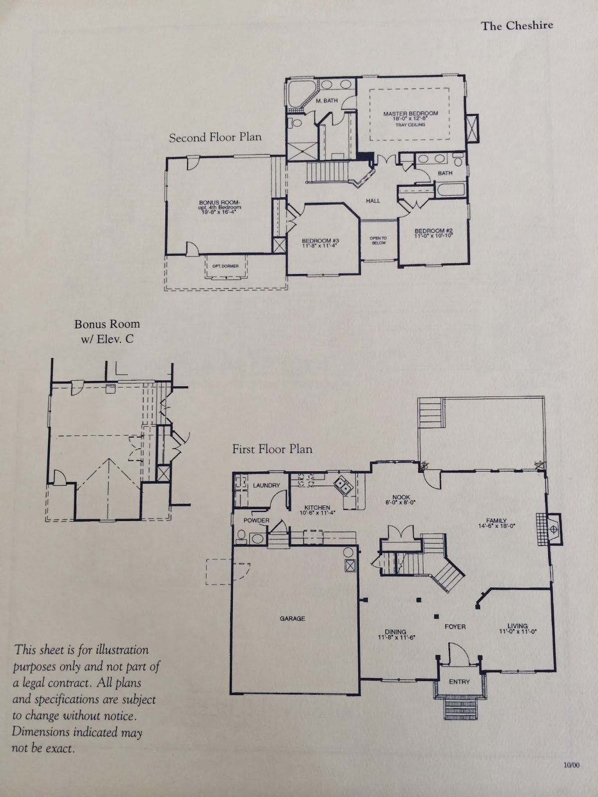 Elevation Plan Notes : Beautiful home in desirable northwest greensboro