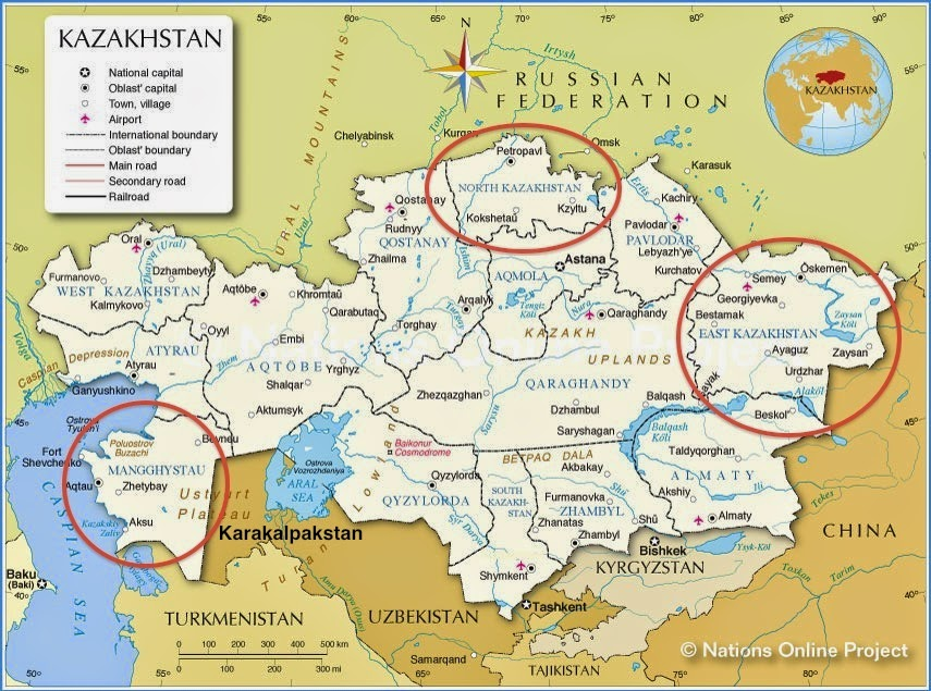 Springtime of Nations Karakalpak Autonomy Rumblings in Uzbekistan
