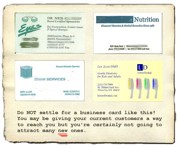 All Amazing Designs Business Card Examples