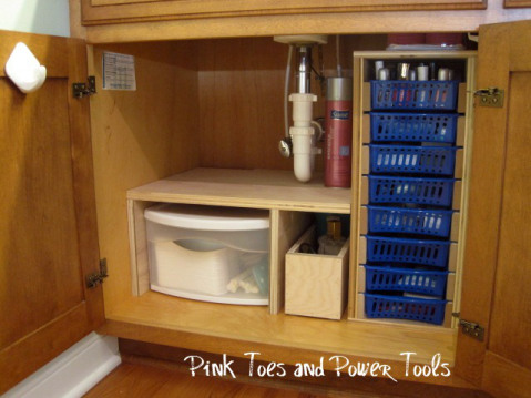 11 ways to organize under a sink | organizing made fun: 11 ways to