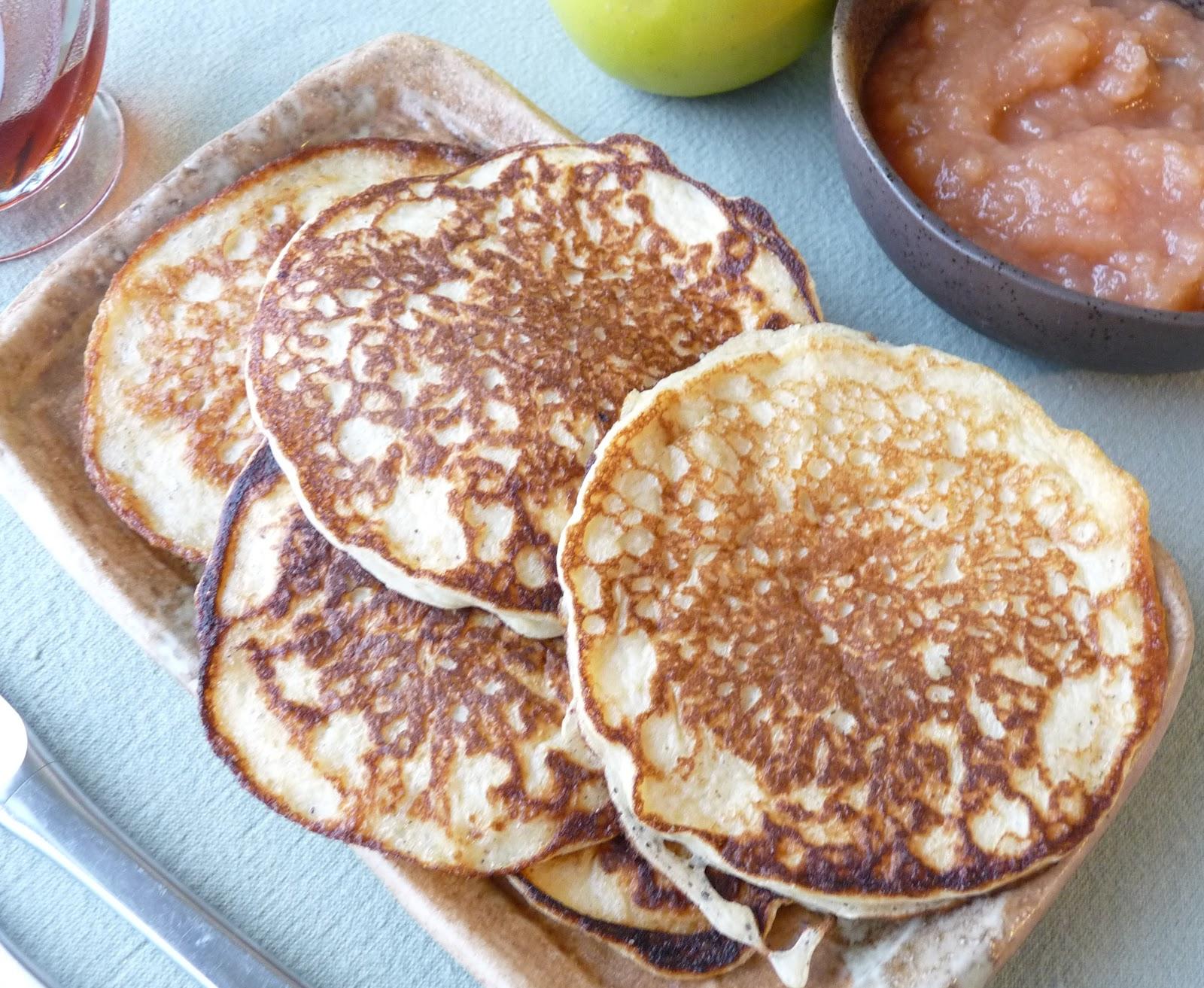Seasonal Ontario Food: Cottage Cheese Pancakes