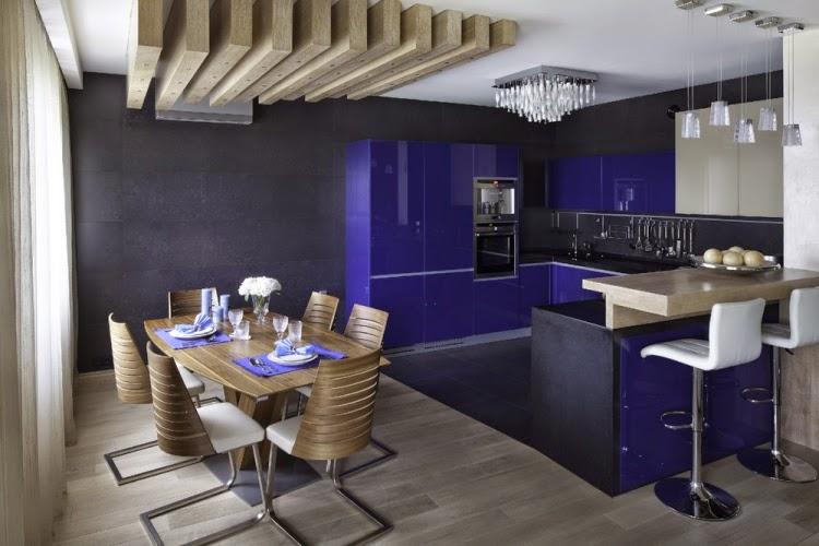 Decorar una cocina y comedor juntos colores en casa for Cocina comedor modernos fotos