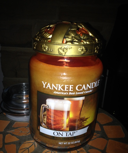 My Yankee Candle Week Wax Bans And Burning Black Coconut