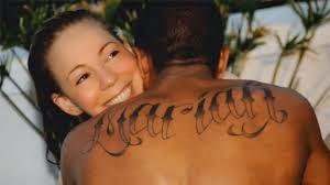 El rapero Nick Cannon se ha sometido a una sesión intensiva de tatuaje para borrar a Mariah Carey.