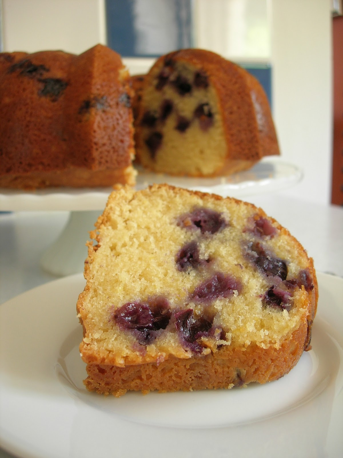 My Little Bungalow: Blueberry-Lemon Bundt Cake