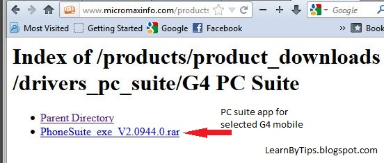 Micromax Mobile PC Suite Drivers