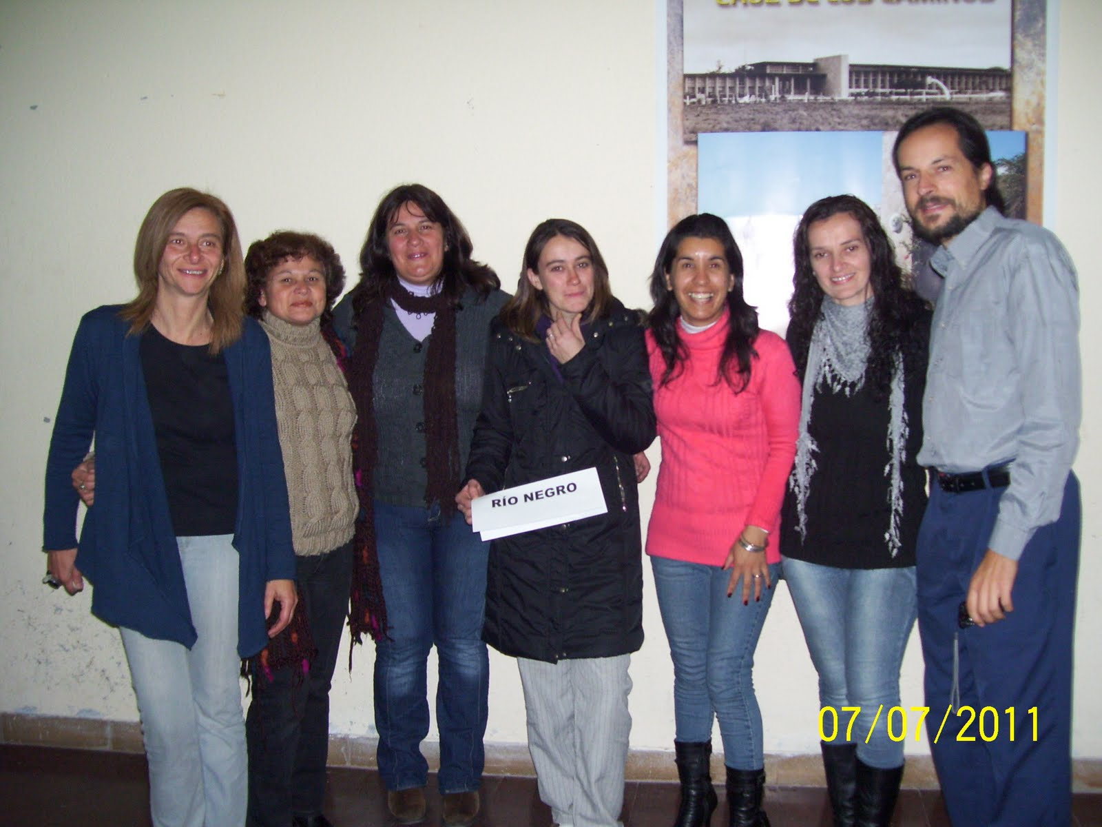 Aurora Fumón, Ángela Arias, Laura Viviano, Silvana Furtado y Natalia ...