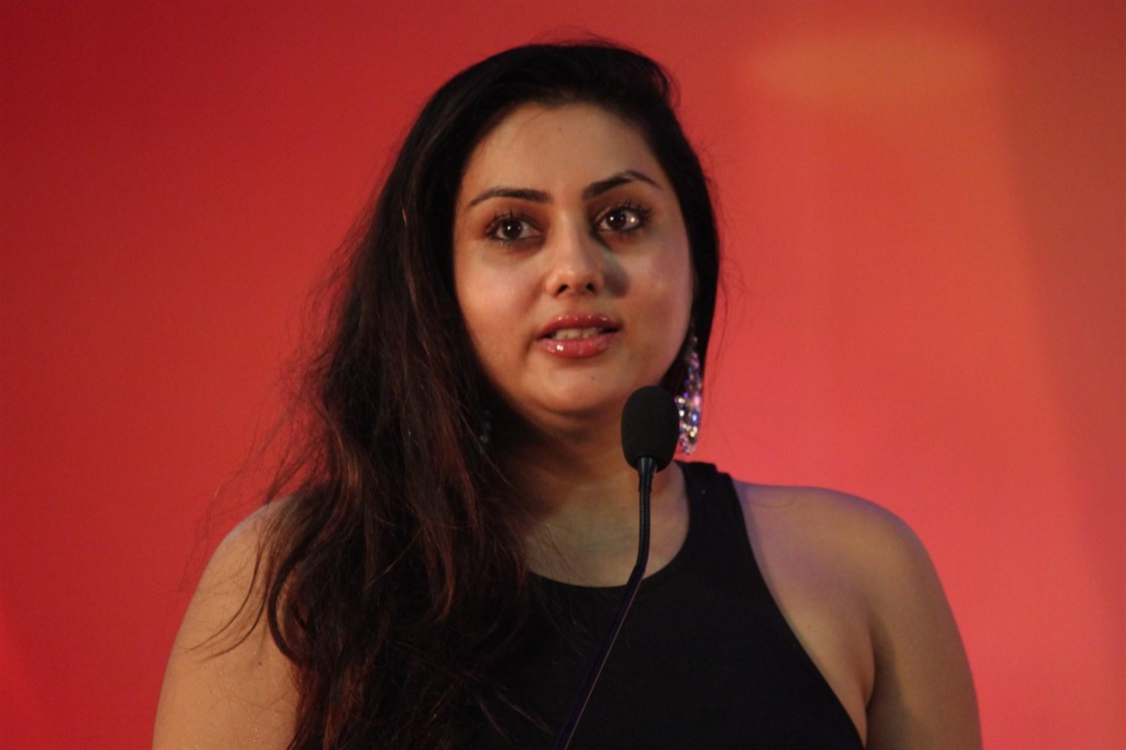 Actress namitha family photos