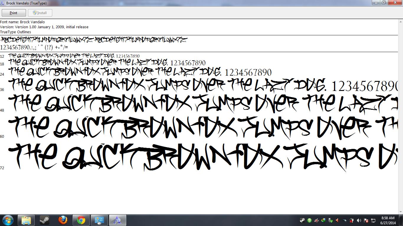 Download 178 Grafitti Font Style
