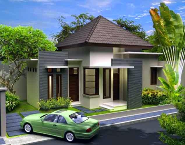 Contoh Gambar Rumah Minimalis 1 Lantai Terbaru
