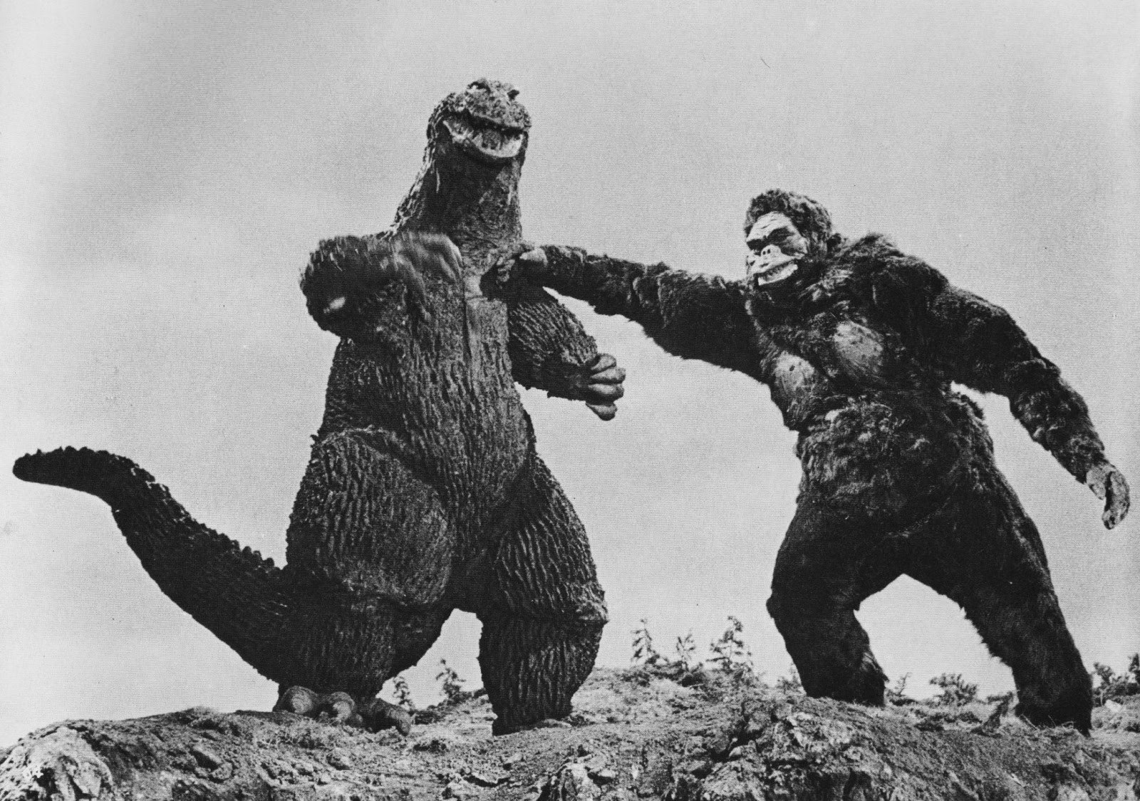 Bakers Log Pix From Godzilla Movies Just Because