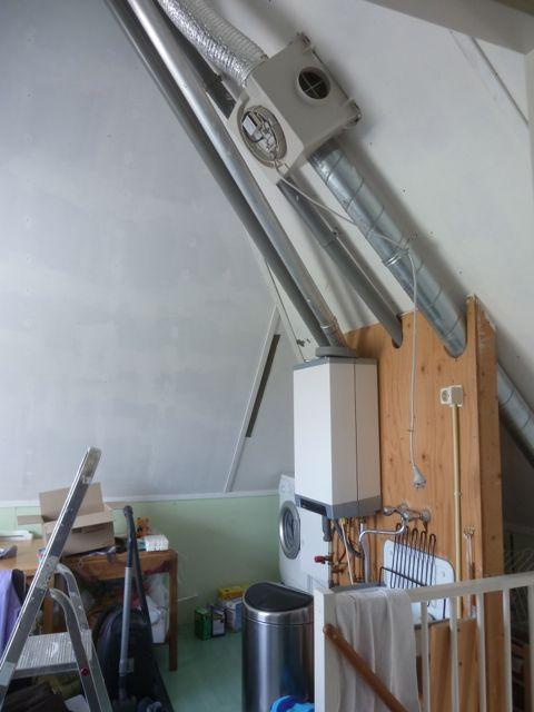 Anita 39 s dagboek 18 ventilator op zolder - Zolder ontwikkeling ...