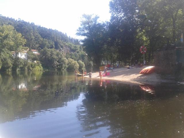 Praia Fluvial Fluvial Quinta Barco