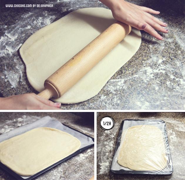 preparación masa de coca salada