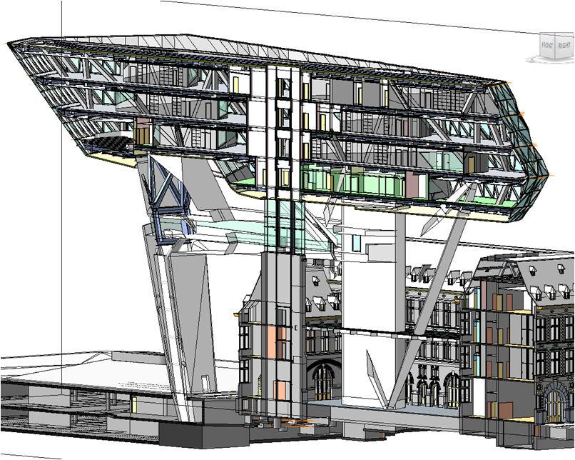 New architecture design city zaha hadid architects for Revit architecture modern house design 8