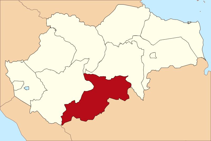 Peta Kabupaten Sarolangun