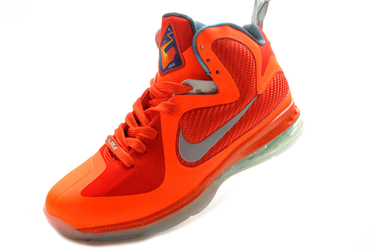 ... Nike Lebron 9Colorway: Total-Orange/Metallic-SilverCondition: A brand new item with ...