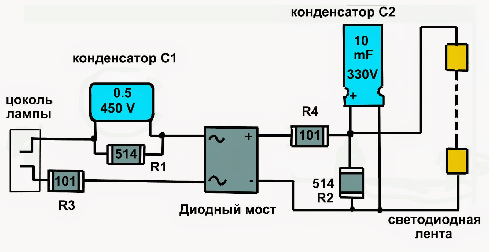 Как сделать регулятор тока для светодиодной ленты
