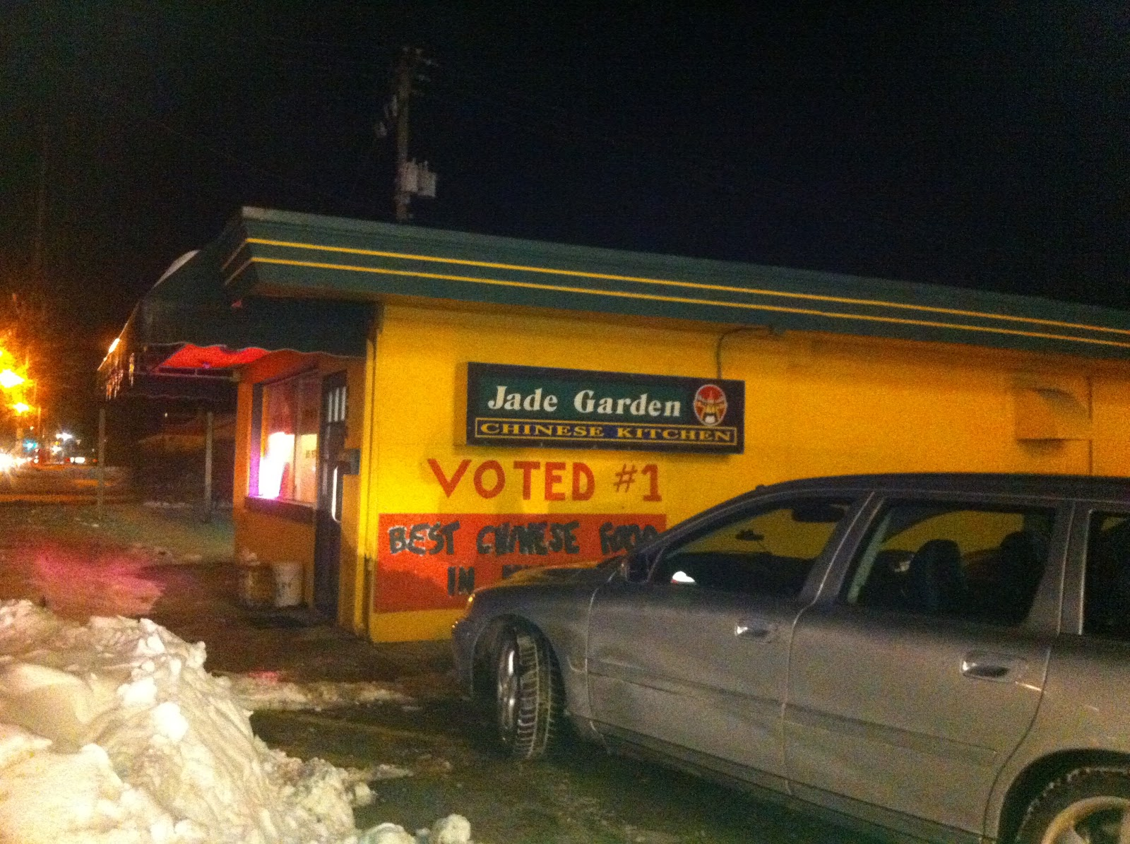 Marty\'s Flying Vegan Review: Not bad, Chinese Food in Elkhart, IN