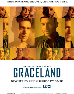 Graceland - Season 1 - Promotional Poster