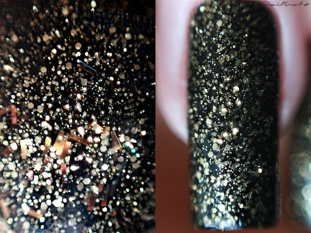 "China Glaze коллекция Monster's Ball #81491 ""Batmyeyes"""