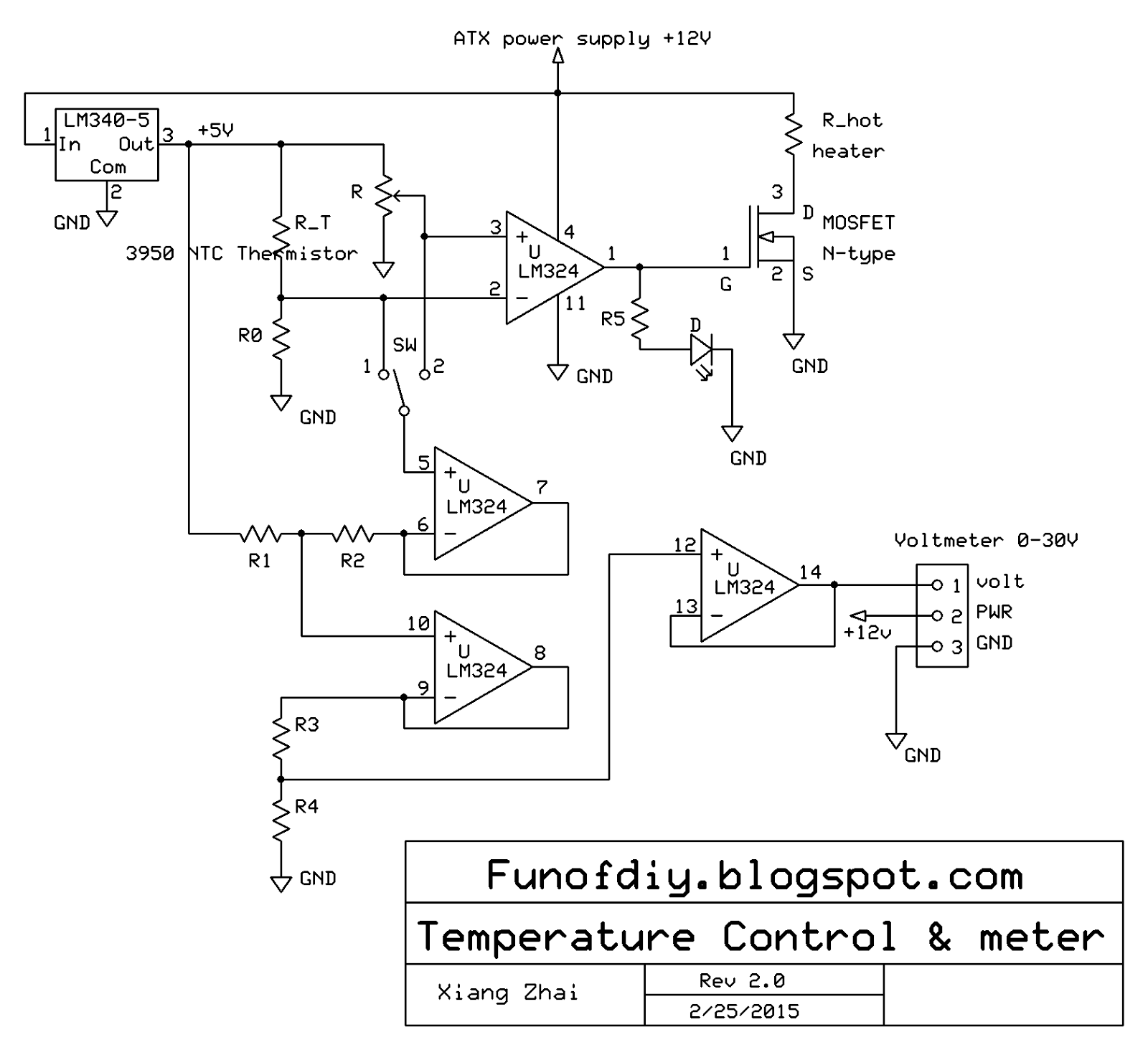 power supply is required the circuit diagram is shown below #2C2C2C