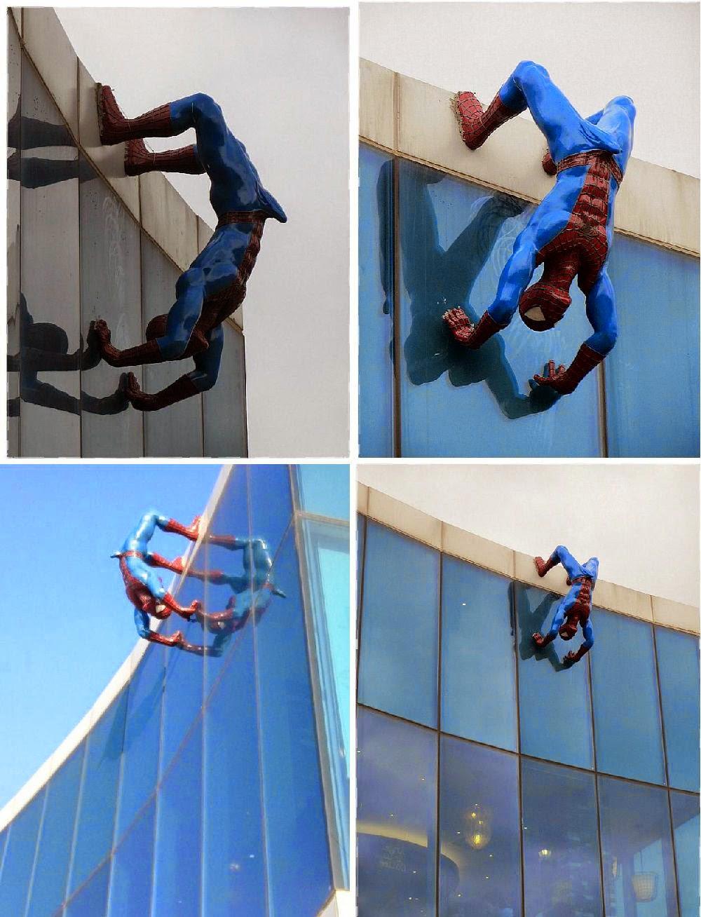 Spiderman Erection