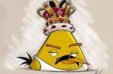 Freddie Mercury en un video de Angry Birds