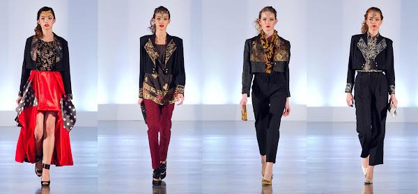 Eco fashion week, efw06, eco fashion, thrift chic challenge presented by value village styled by Jasmine Zhu