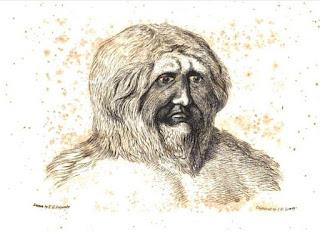 nondescript ape-man