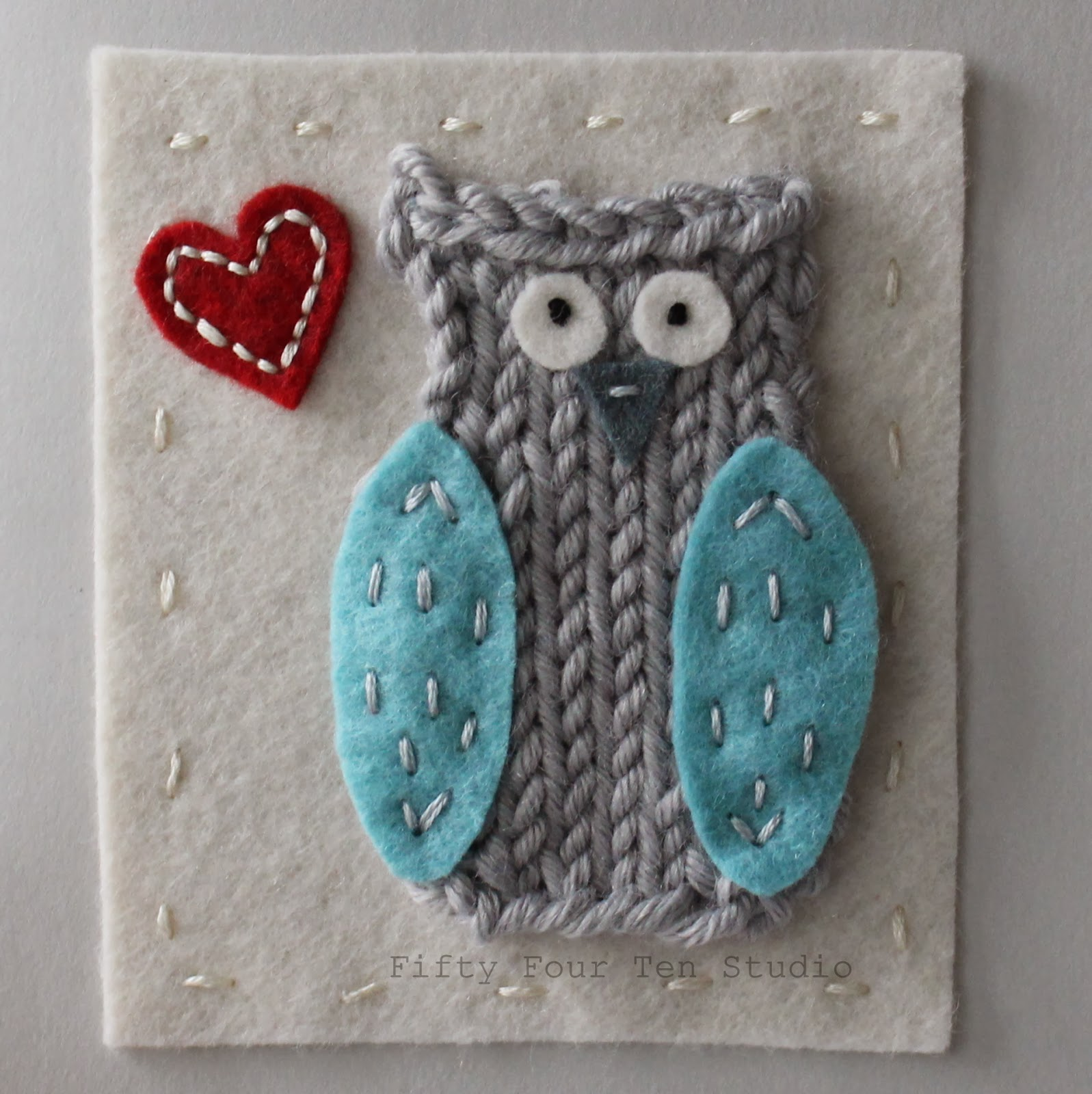Fifty Four Ten Studio: Free Little Owl Knitting Pattern!