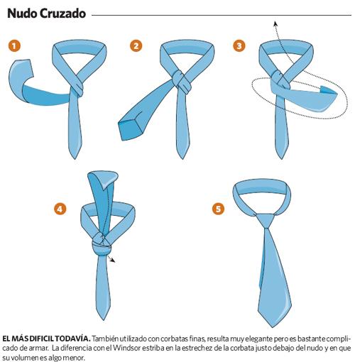 Nudo de corbata paso a paso for Pasos para hacer nudo de corbata