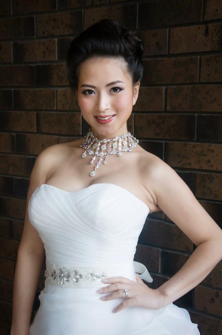 Brisbane Australian Korean Vietnamese Chinese Hong Kong Japanese And Tai Wanness Asian Bridal Hair Makeup Photo By WEDDING DREAM SERVICES