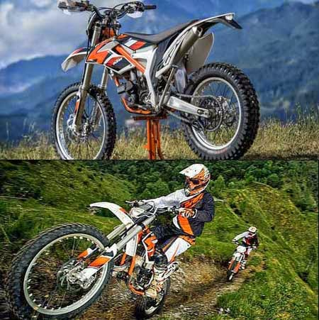 Review Harga KTM Freeride 250R