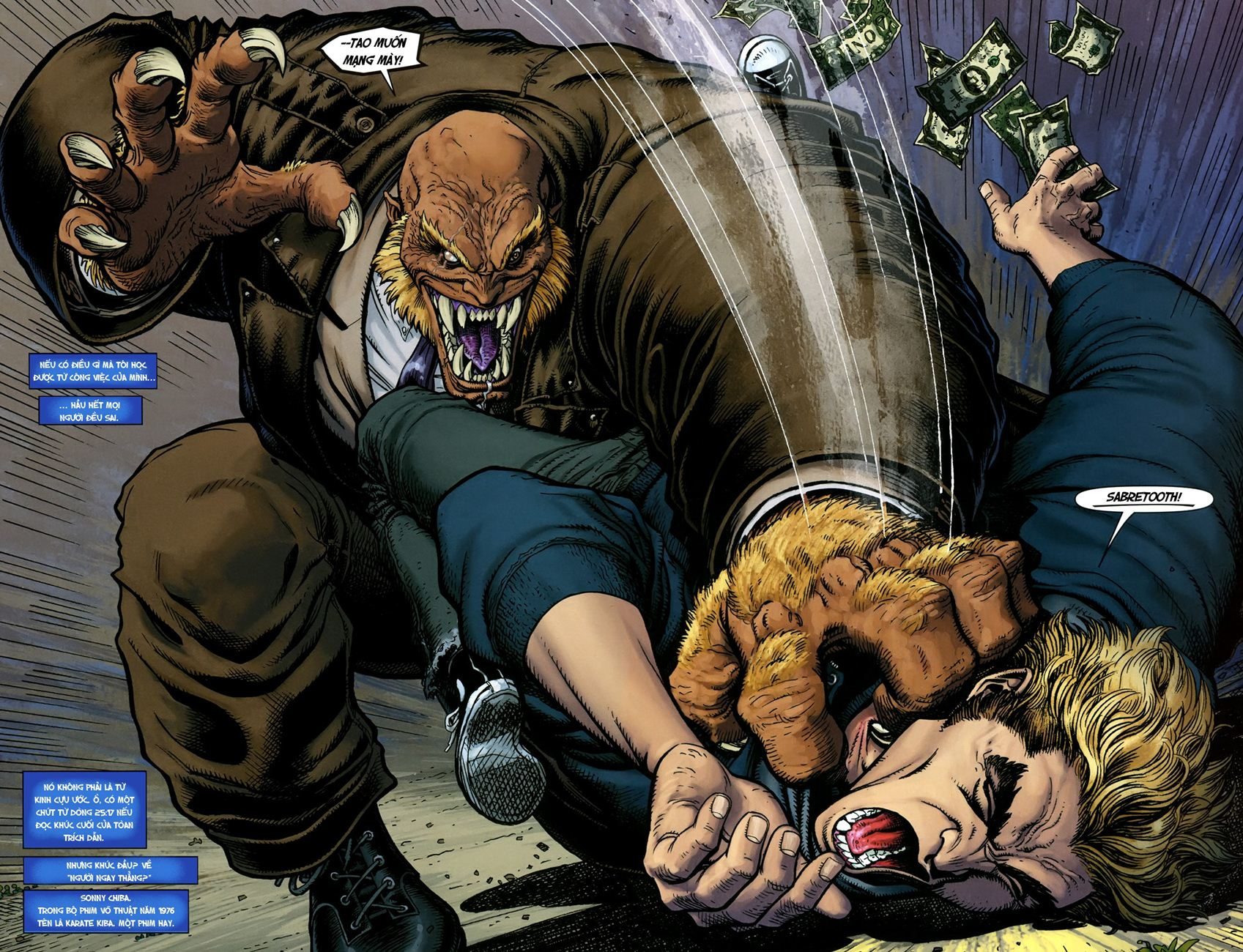 TruyenHay.Com - Ảnh 4 - Ultimate Comics X Chap 5