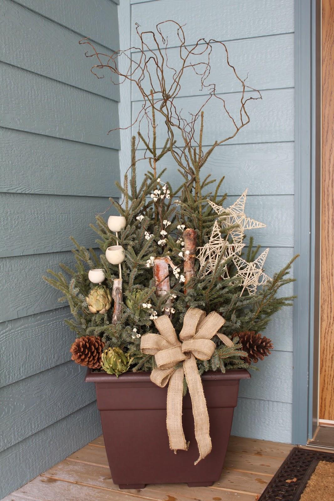Explore Love Eat Diy Spruce Tip Porch Pot
