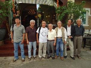 """Một vài thành viên của """"Hội văn đoàn độc lập Việt Nam"""""""