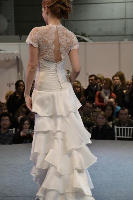robes de mariée dentelle froufrous confidentiel création